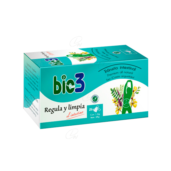 BIE3 REGULA LIMPIA INTESTINO 25 INFUSION